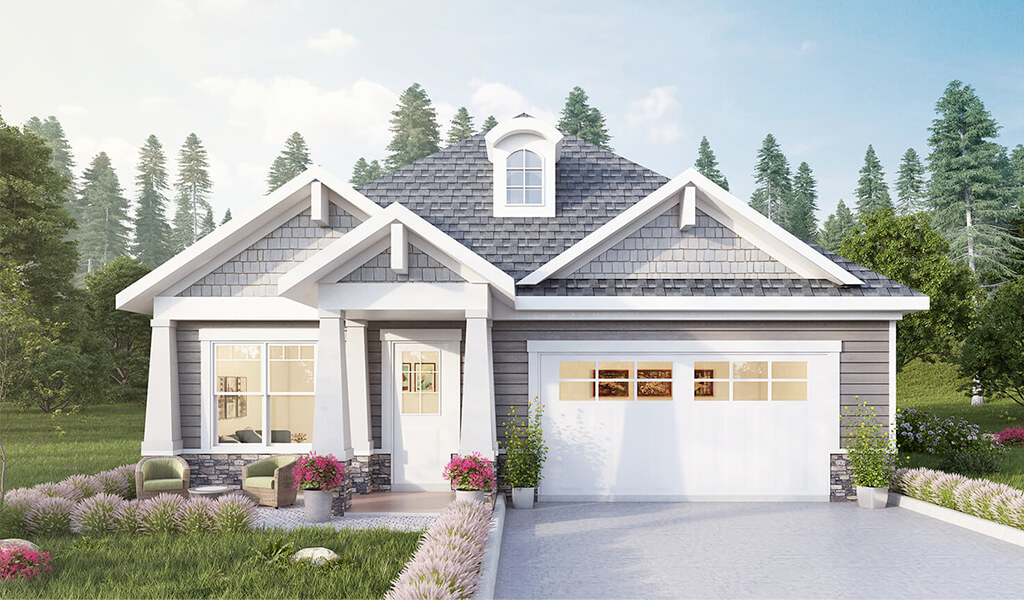 The Dover by Infinity Homes